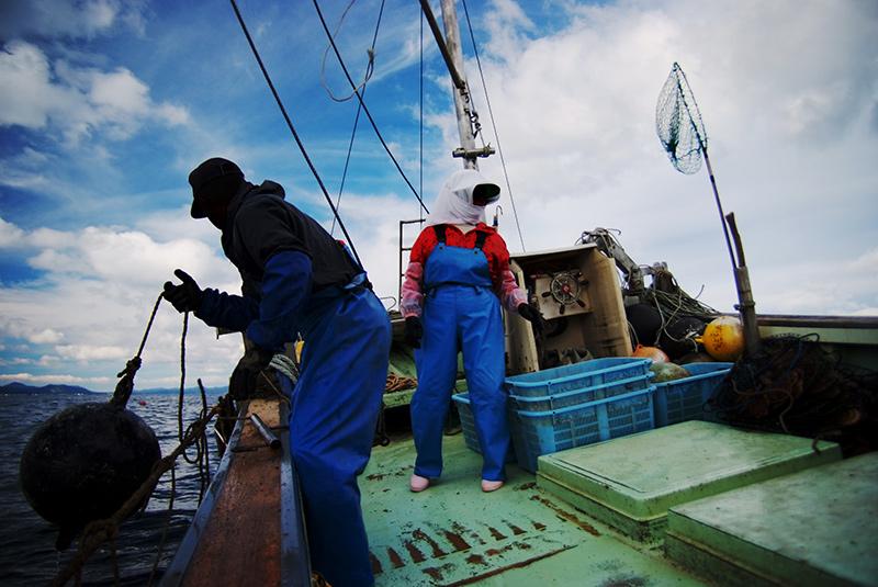 漁師(シシャモ漁など)の仕事